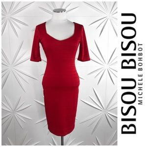 Bisou Bisou Sweetheart Neck Bandage